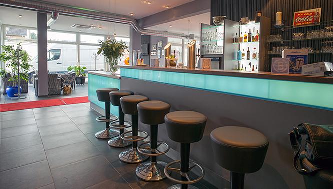 Fotografie der Bar der Tanzschule in Bremerhaven