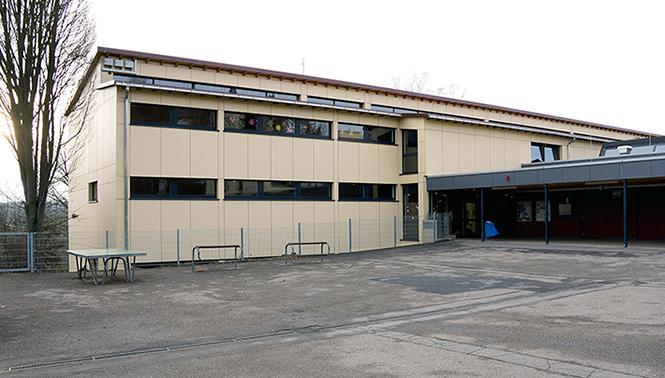 Zweite Fotografie der Grund- und Hauptschule in Calw-Heumaden