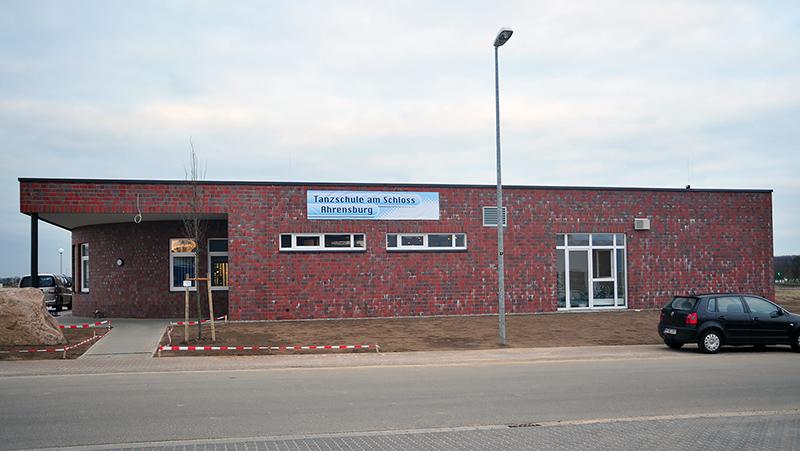 Frontansicht der Tanzschule Kohl in Ahrensburg