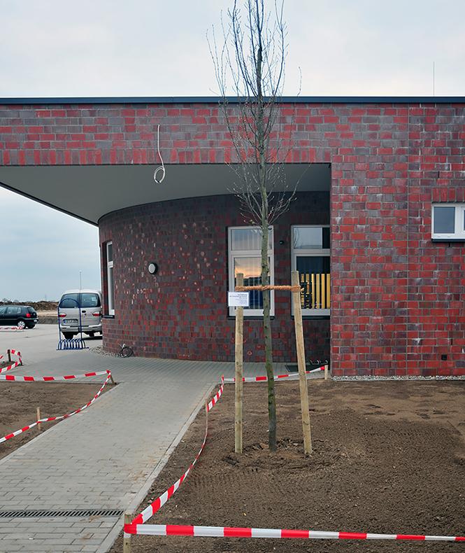 Eingang der Ahrensburger Tanzschule Kohl