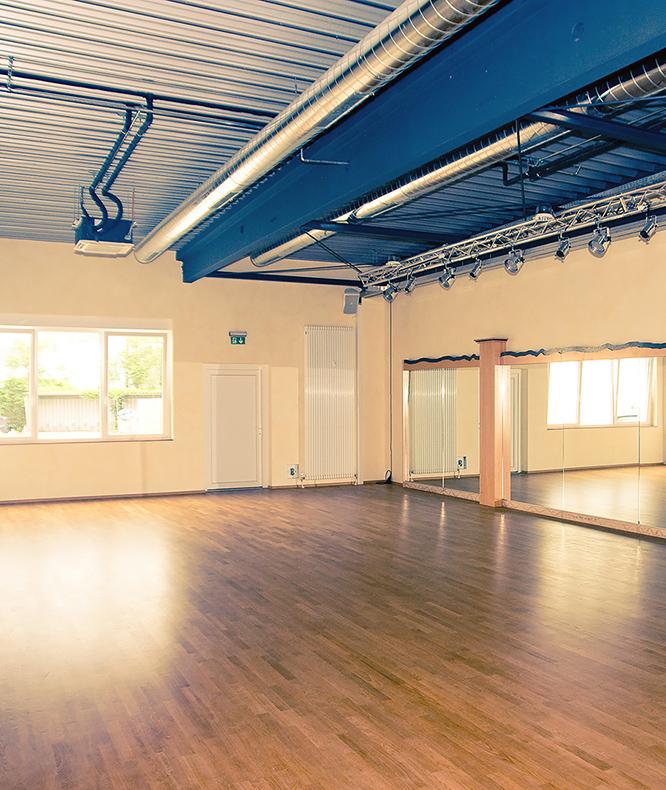 Fotografie des großen Tanzsaals