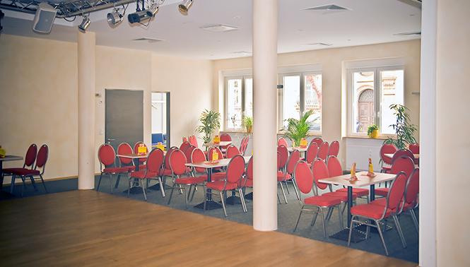 Innenansicht der Frankenthaler Tanzschule