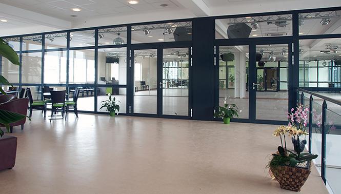 Obergeschoss mit den Tanzsälen