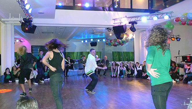 Fotografie einer Tanzveranstaltung in Pforzheim