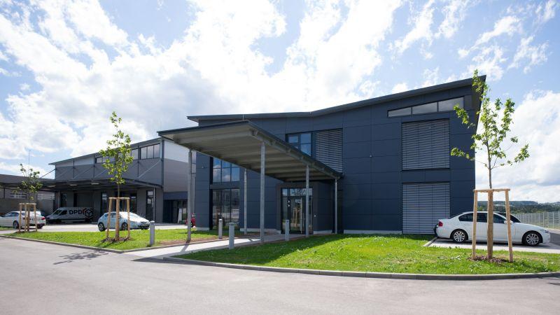Eingangsbereich der Firma h.team in Calw