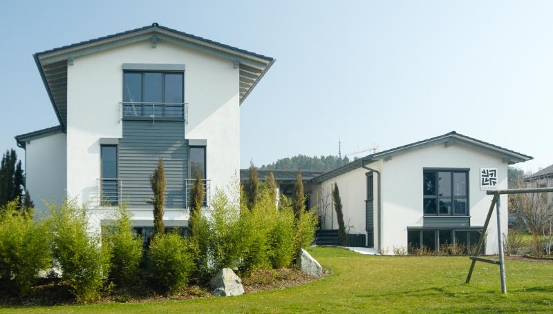 Wohnhaus mit zugehörigen Architekturbüro in Calw-Stammheim